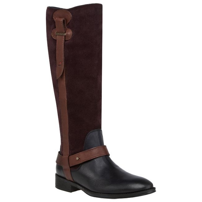 Knee High Boots TOMMY HILFIGER - HAMILTON 7C FW56816022 902  Blue Brown