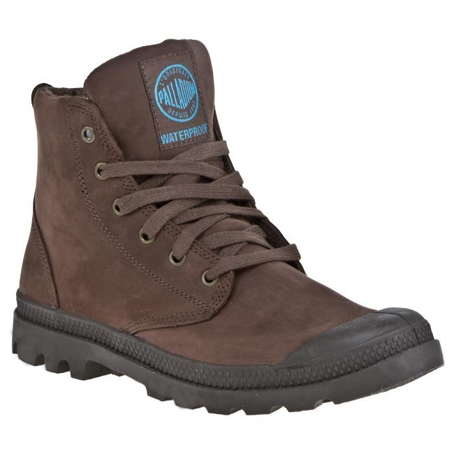 Hiking Boots PALLADIUM - Pampa Hi Lea Gusset 02744255 Chocolate