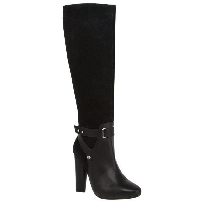 Knee High Boots TOMMY HILFIGER - Hailey 6C FW56816016 990  Black