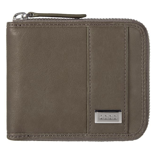 Large Men's Wallet ECCO - 910446190173 Warm Grey 173