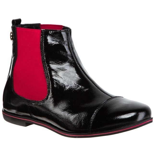 Ankle Boots OLEKSY - 20-339 Black Red
