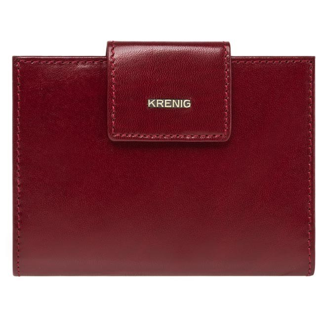 Large Women's Wallet KRENIG - 11013 Cherry
