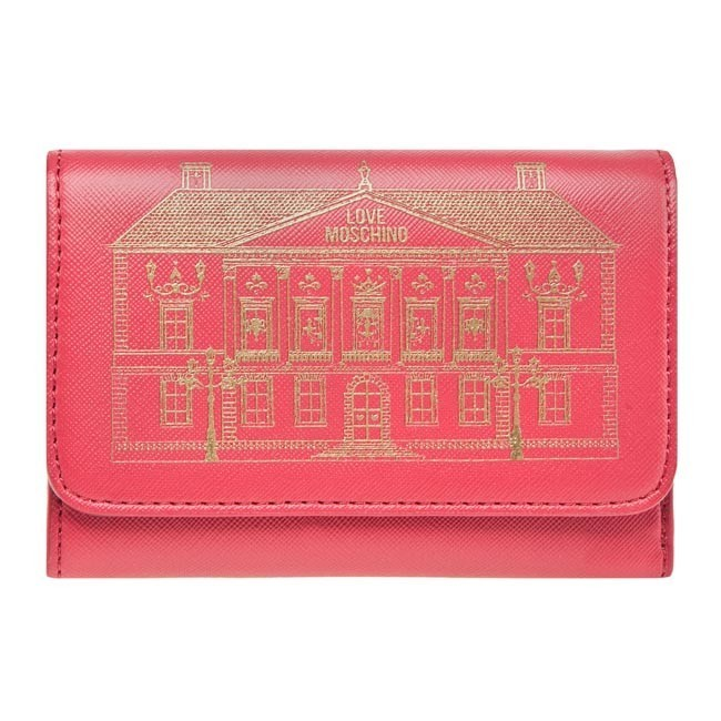 Large Women's Wallet LOVE MOSCHINO - JC5521PP1ZLY0500 Red