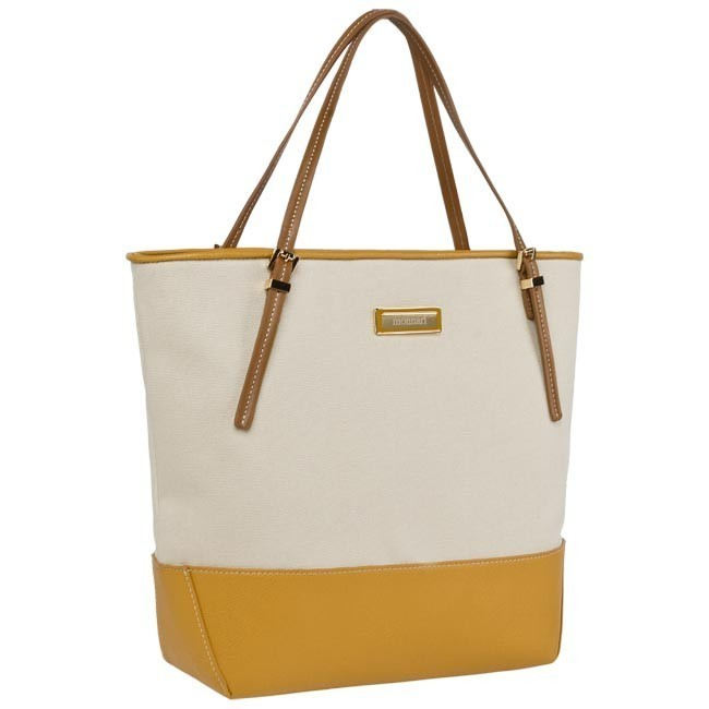 Handbag MONNARI - BAG2500-015 Beige Yellow