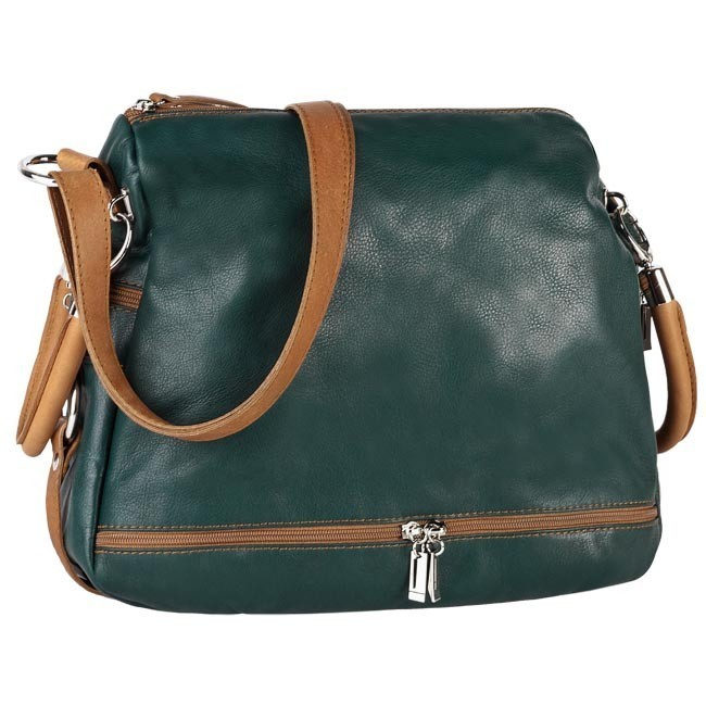 Handbag CREOLE - RBI215  Brown Green