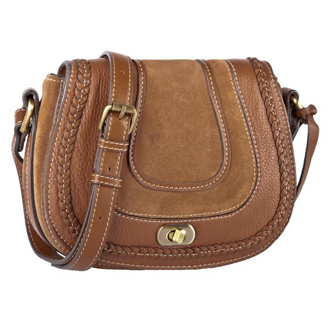 Handbag CLARKS - 203567610 Tan Combi Lea