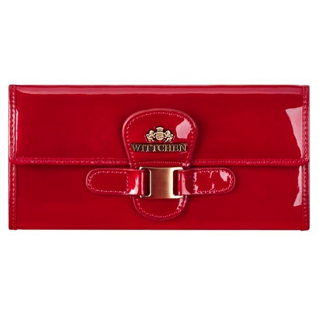 Large Women's Wallet WITTCHEN - Verona Wallet 25-1-336-3 Red