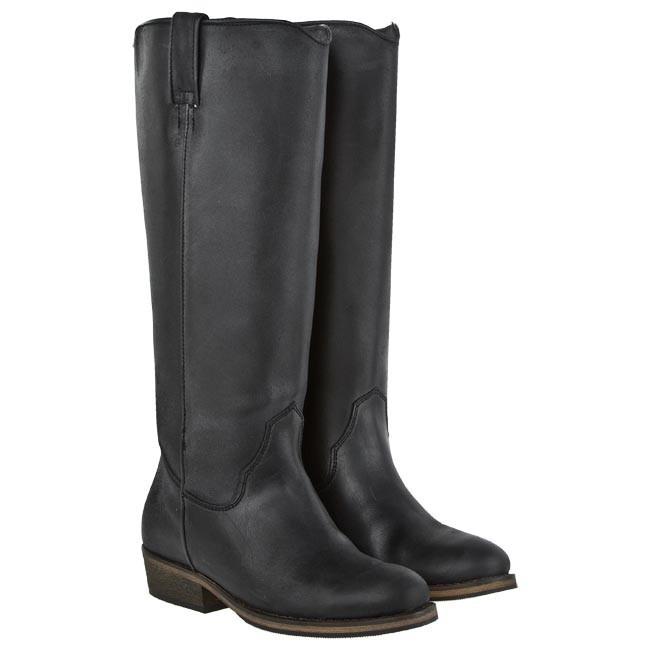 knee high boots bronx 13950 zy black 01 jackboots
