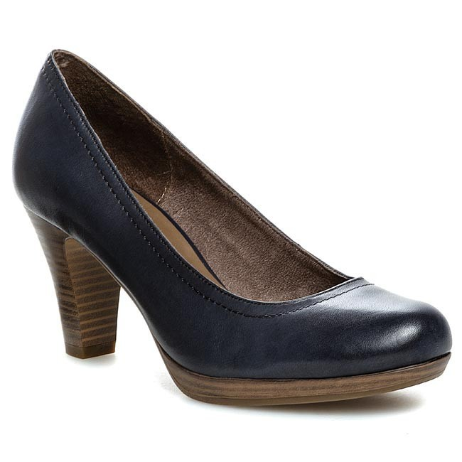 high heels tamaris 1 22410 22 navy 805 heels low shoes women 39 s shoes. Black Bedroom Furniture Sets. Home Design Ideas
