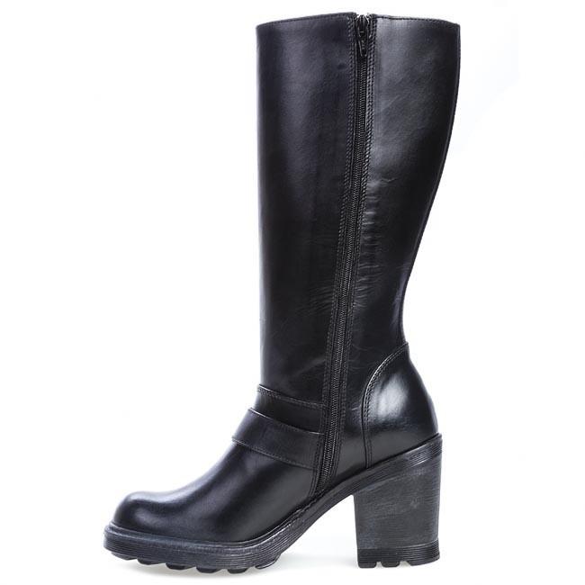 knee high boots bronx 13947 f bx 554 black jackboots