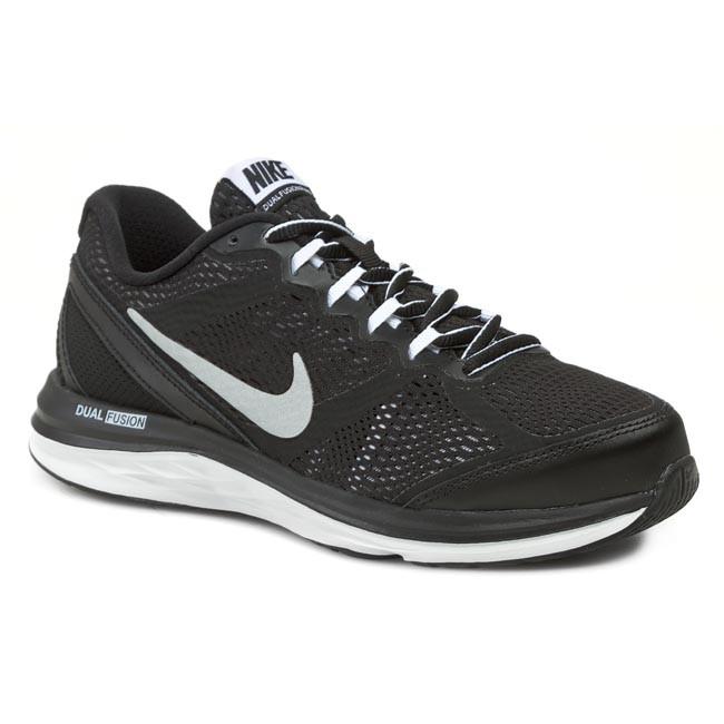 educador aparato Derivar  Shoes NIKE - Dual Fusion Run 3 654150 002 Black/Metallic Silver/White/Cool  Grey - Training - Running - Women's - Sport | efootwear.eu