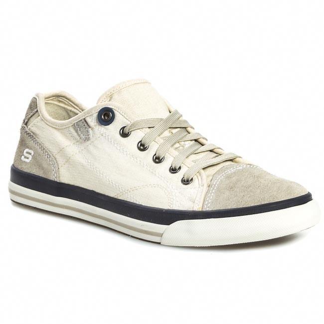 Shoes SKECHERS - Levon 64025 Off White