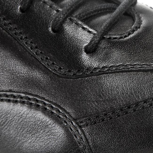 Shoes GEOX U Symbol B U44A5B 00085 C9999 Black jhtsY