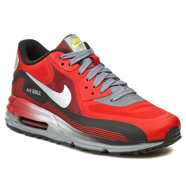 womens nike air max lunar 90 Shoes NIKE - Air Max 90 Lunar 636229 600 University Red/Metallic ...