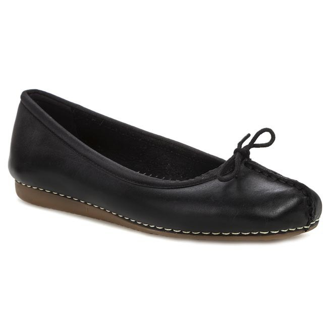 Flats CLARKS - Freckle Ice 203529294