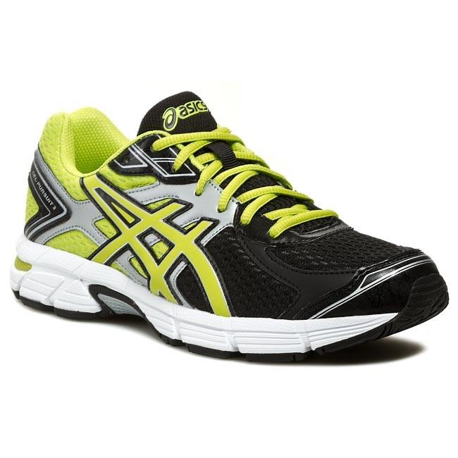 chaussures de séparation c936b 80b7b Shoes ASICS - Gel-Pursuit 2 T4C4N Black/Lime/Silver