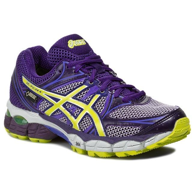 Shoes ASICS - Gel-Pulse 6 G-Tx T4A9N Deep Purple/Lime/Purple