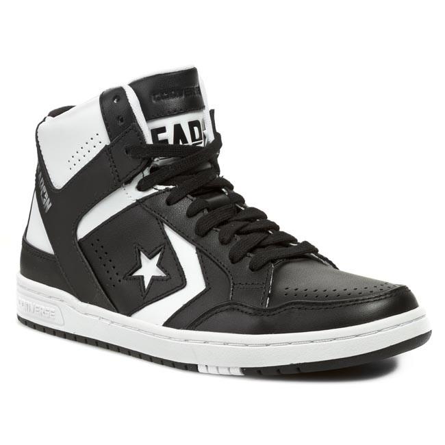 super popular c4c8b 86c94 Sneakers CONVERSE - Weapon Mid 144545C Black White