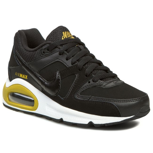 Shoes NIKE Air Max Command 407759 061 Black Gold Lead White