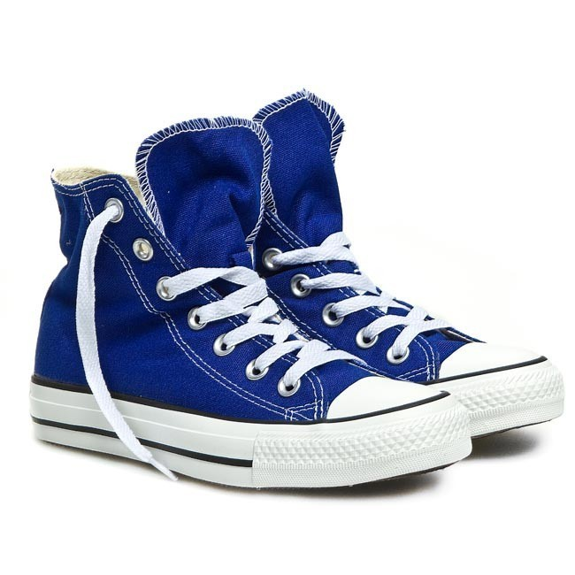 Sneakers Converse Ct Hi Radio 142366f Radio Blue Flats