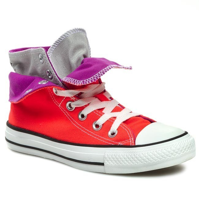Sneakers CONVERSE CT TWO FOLD HI 140072F Fiery Coral