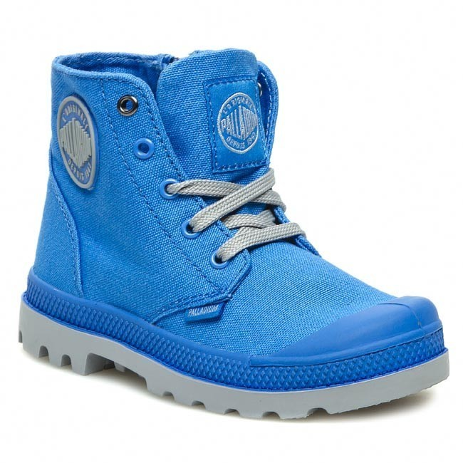 Perfect Women Palladium Mono Chrome Baggy Ii Boots  Originals Victoria Blue