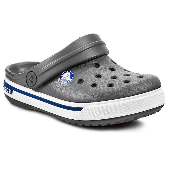Slides CROCS Crocband II.5 Clog Kids 12837 Charcoal Sea Blue