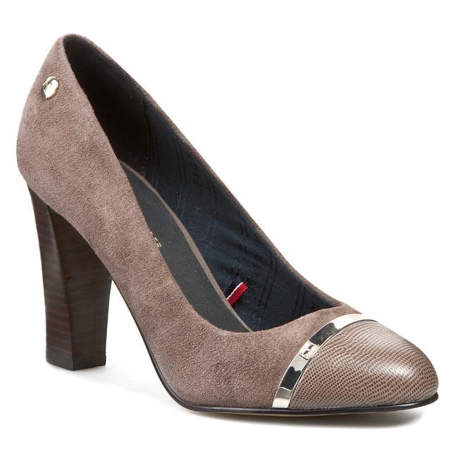 high heels tommy hilfiger avery 8c fw56817747 mink 906. Black Bedroom Furniture Sets. Home Design Ideas