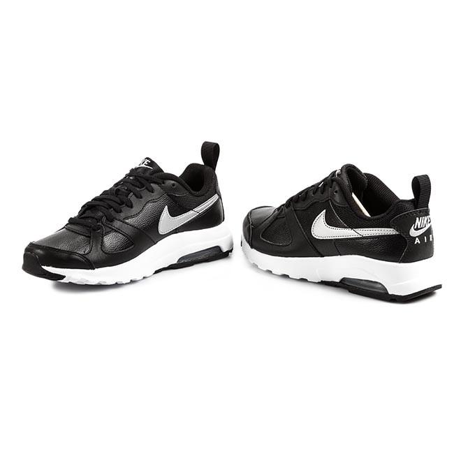 Shoes NIKE Wmns Air Max Muse Lth 654728 001 BlackMetallic Silver White