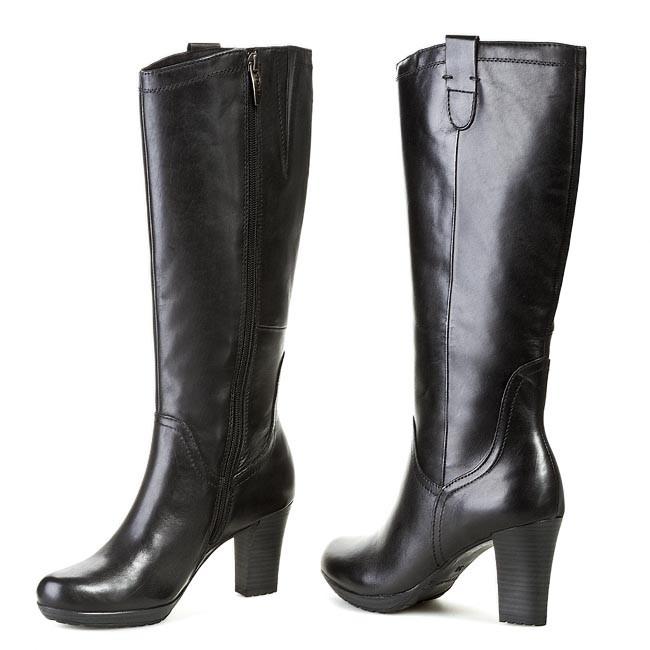25553 001 High Black Tamaris Boots 23 Knee 1 thdxrosCBQ