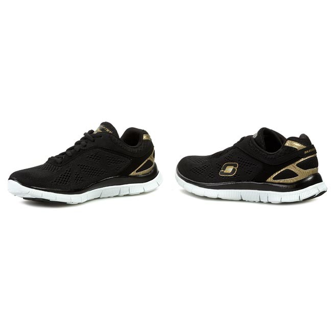Shoes SKECHERS Flex Appeal Love Your Style 11728BKGD BlackGold