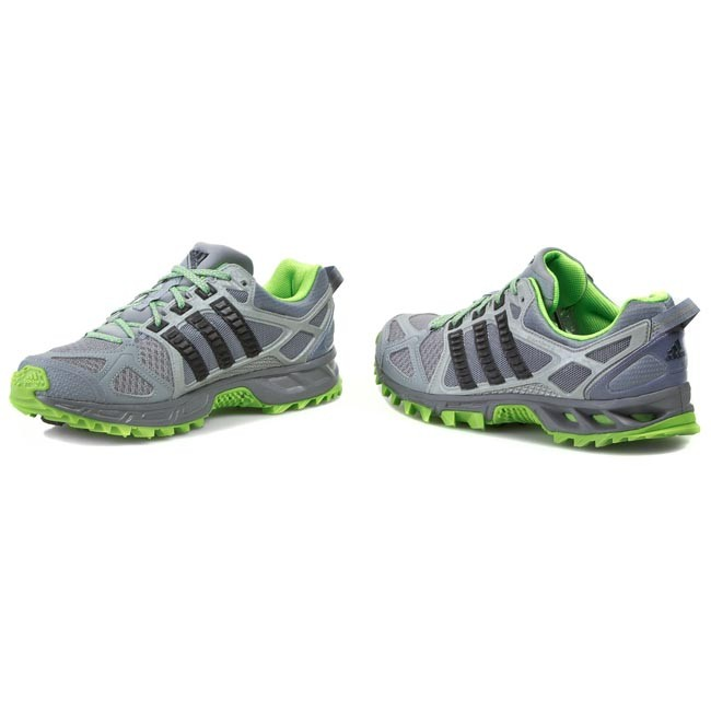 Shoes adidas Kanadia Tr 6 M M18451 GreyGreen