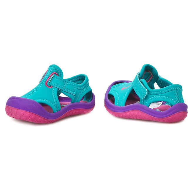 Sandals Nike Sunray Protect 344993 300 Turbo Green Pink