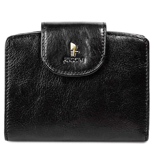 Small Women's Wallet PUCCINI - P-25969 Black 1