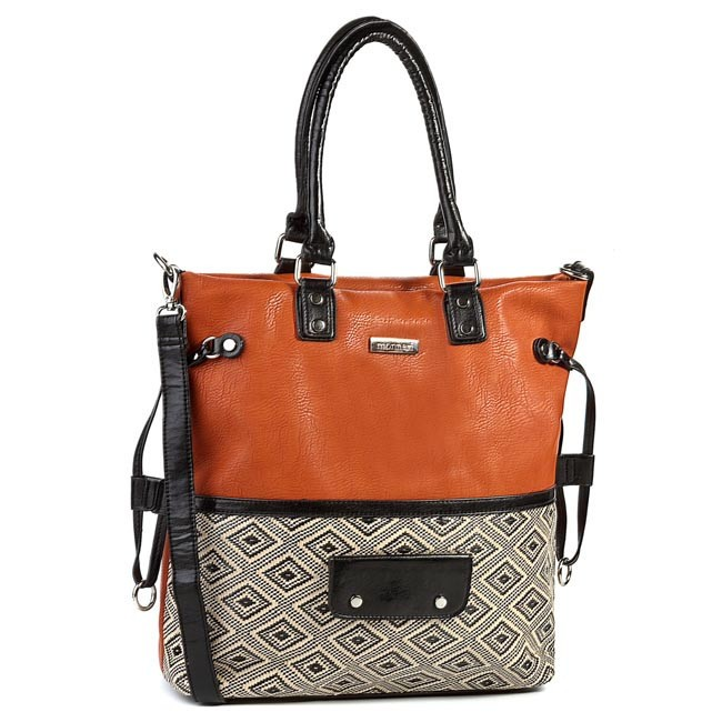 Handbag MONNARI - BAG2210-003 Orange