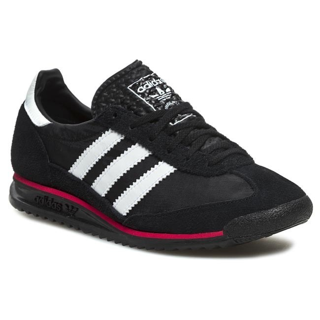 Papá llorar Trivial  Shoes adidas - SL 72 G63488 Black1/Wht/LGTSCA - Sneakers - Low shoes -  Men's shoes | efootwear.eu