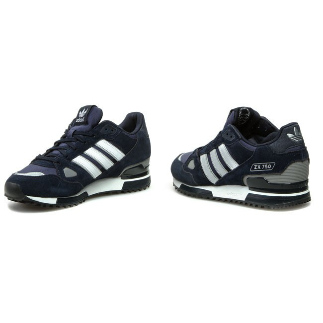 Shoes adidas ZX 750 G40159 New NavyWhiteDark Navy