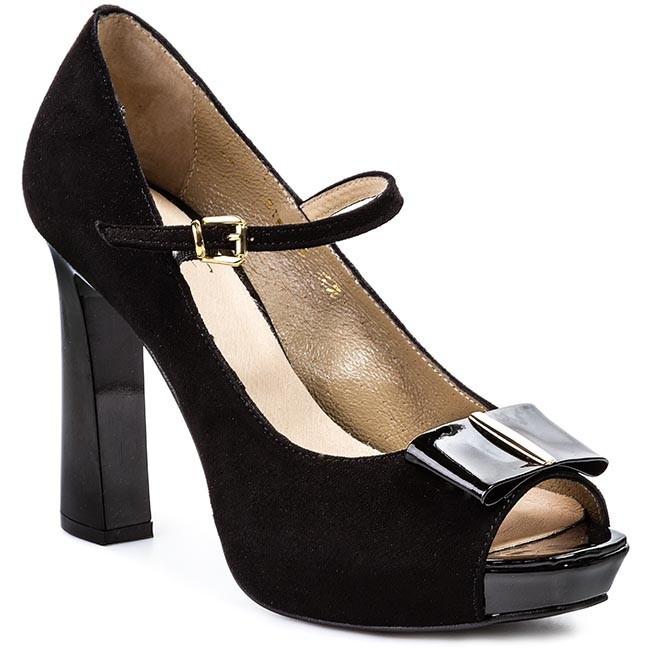 Shoes A.J.F. - 664 Black