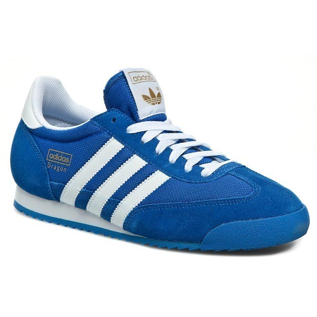 Shoes adidas - Dragon G50922 Bluebird/Metallic Gold/White