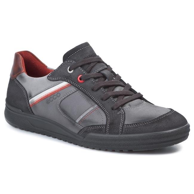 Shoes ECCO - Fraser 53950458736 Moonless/Cognac