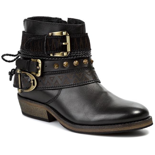Boots BRONX - 44013-AX BX 274 Black