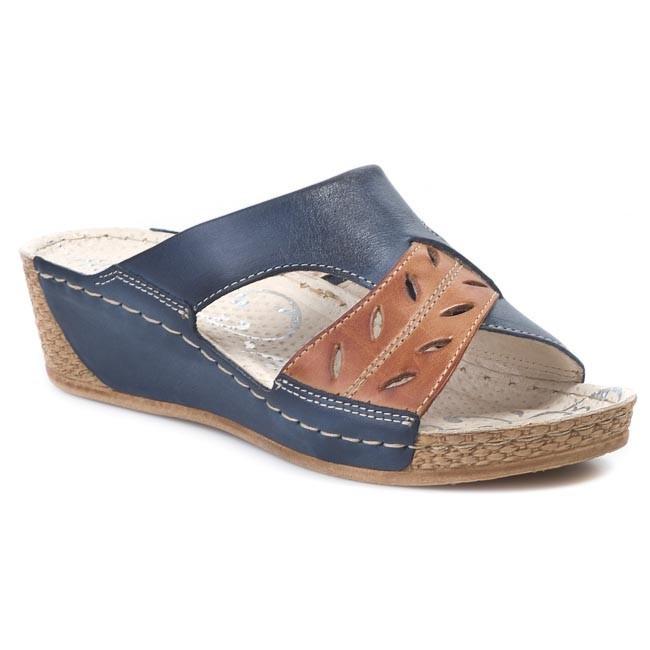 Slides WALDI - 674 Blue