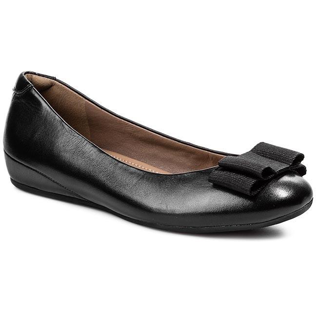 Flats ECCO - Owando 35607301001  Black