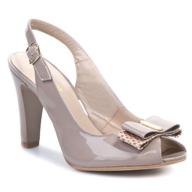Sandals EKSBUT - 2248-A31/A45-1G Beige