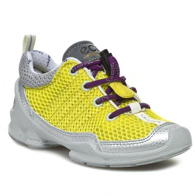 Shoes ECCO - Biom Train Kids 70134257838 Light Silver/Buttercup