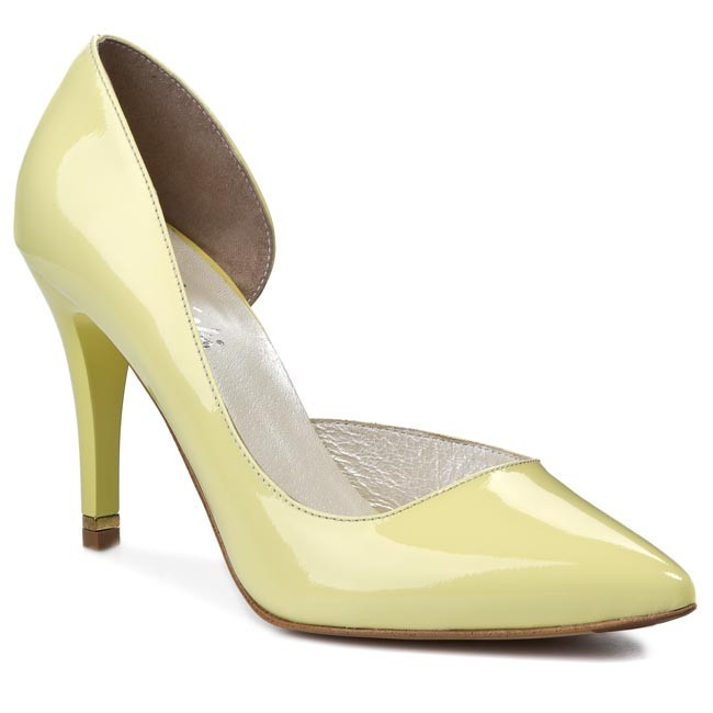 Stilettos R.POLAŃSKI - 0736 Yellow