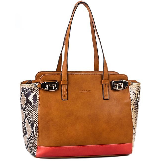 Handbag MONNARI - BAG2140-017 Brown