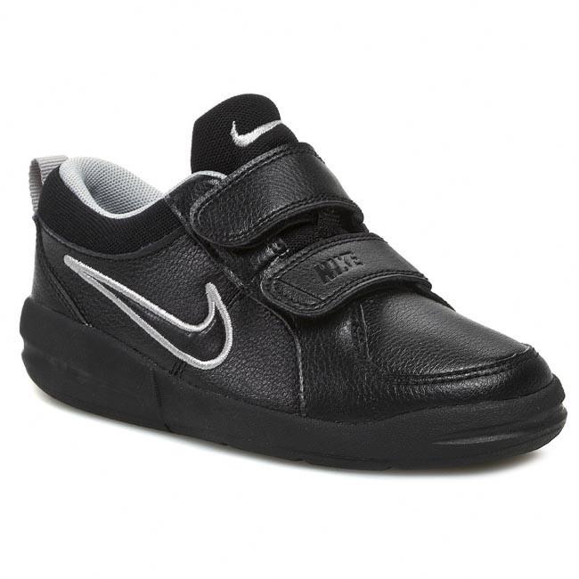 4670089592e89 Shoes NIKE - Pico 4 454500 001 Black/Metallic Silver - Velcro - Low shoes -  Boy - Kids' shoes - efootwear.eu