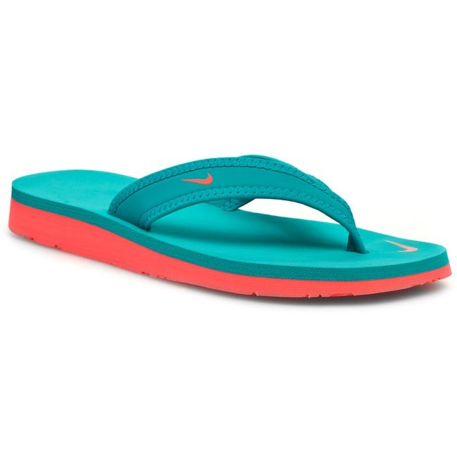 Slides NIKE -  WMNS Celso Girl Thong 314870 303 Turbo Green/Laser Crimson