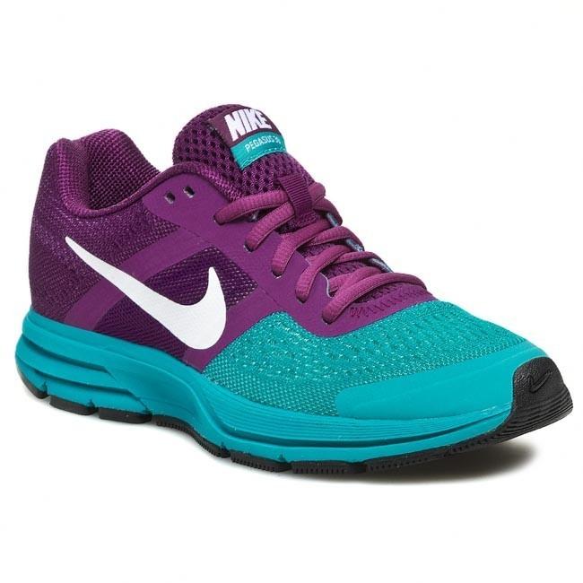 Shoes NIKE - Wmns Air Pegasus+ 30 599392 513 Bright Grape/White/Turbo Green